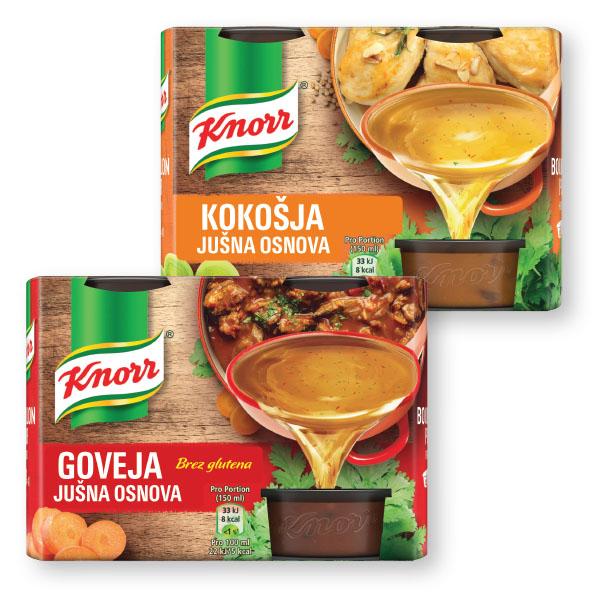 Knorr jušna osnova, goveja, kokošja