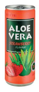Pijača Lotte Aloe Vera jagoda, 240ml