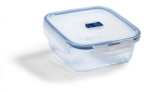 Doza Pure box, stekl., kvadratna, 122cl