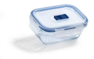 Doza Pure box, stekl., pravokotna, 38cl