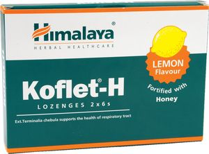 Pastile za grlo Himalaye, med, limona, 33,6g