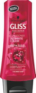 Balzam za lase Gliss, Ultimate Color za barvane lase, 200 ml