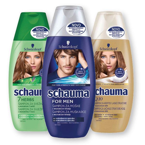 Šampon Schauma, Q10, 250ml
