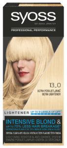 Barva Syoss, ultra posvetl., 13-0