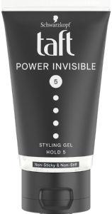 Gel za lase Taft Power invisible, 150ml