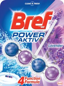Osvežilec Bref WC, power aktiv, sivka, 50g