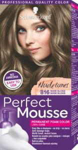 Barva za lase, Perfect mousse 816, nudes