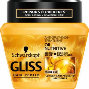 Maska za lase Gliss, Oil Nutritive, 300 ml