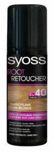Sprej Syoss Root Retoucher za prekrivanje lasnega narastka temno blond, 75ml