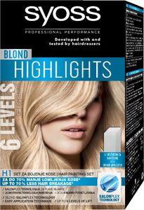 Set Syoss, Blond H1 painting