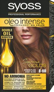 Barva Syoss color oleo, medeno blond 8-60