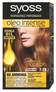 Barva Syoss color oleo, zlati mango 7-70