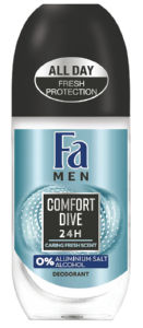 Dezodorant roll-on Fa men, comford dive, 50ml
