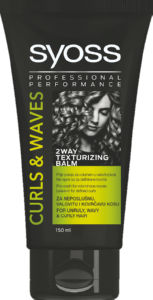 Nega las Syoss, Texturing balm 2wav, curls&waves, 150ml