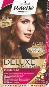 Barva Palette deluxe 556, zlata temno blond
