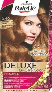 Barva Palette deluxe 546, karamelno zlato blond