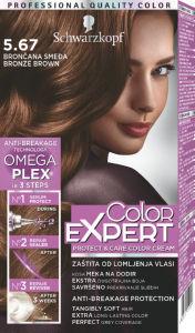Barva Color expert, bronze rjava 5-67