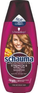 Šampon Schauma, strenght&vitality, 250ml