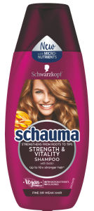 Šampon Schauma, strenght&vitality, 400ml