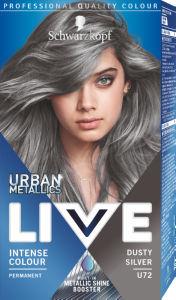 Barva Live, dusty silver, U72