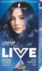 Barva Live, blue mercury, U67