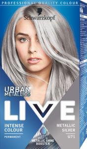 Barva Live, metalic silver, U71