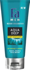 Gel za prhanje Fa, men, Aqua deep 3v1, 200ml