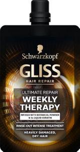 Nega Gliss, Weekly scrub Ultimate repair, 50 ml
