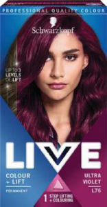 Barva za lase Schwarzkopf Live L76 Ultra Violet