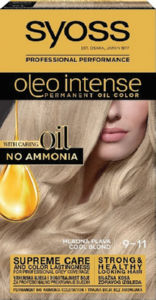 Barva za lase Syoss, Color Oleo 9-11 Cool blonde