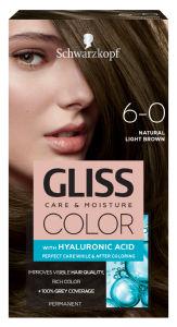 Barva za lase Gliss Color, 6 – 0 light brown