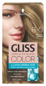 Barva za lase Gliss Color, 8 – 0 natural blond