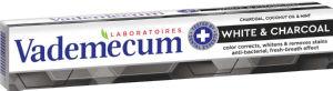 Zobna pasta Vademecum Premium, white&charcoal, 75ml