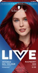 Barva za lase Live, 6.88 Rdeča malina
