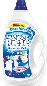 Pralni prašek Wesserriese, Uni gel, 50pranj, 2,5l
