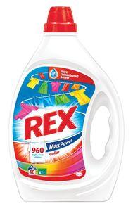 Pralni prašek Rex gel, Color, 40pranj, 2l