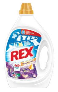Pralni prašek Rex gel Provence, lavender&jasmine, 40pranj, 2l