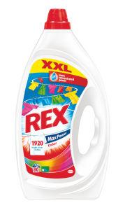 Pralni prašek Rex gel, color, 80pranj, 4l