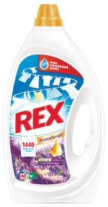 Pralni prašek Rex gel Provence Lavander&Jasmine, 60 pranj, 3l