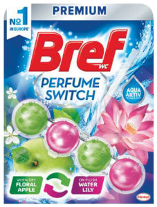 Osvež.Bref, Parfume, switch apple&water lilly, 50g