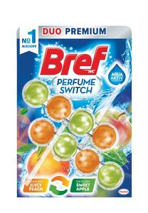 Osvež.Bref, Parfume, switch peach&red apple, 2x50g
