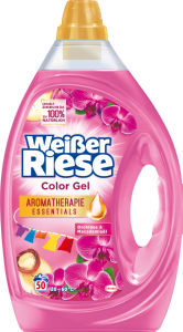 Pralni prašek Weisserriese, gel, Malodor color, 50pranj, 3l