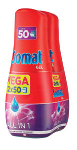 Detergent Somat All in1, 2x900ml
