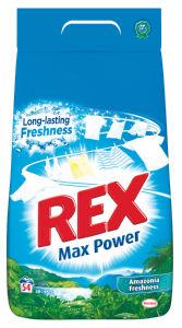 Pralni prašek Rex, Amazinia freshness, 54pranj, 3,51kg