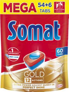 Tablete Somat Gold, 54+6