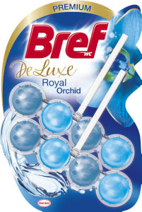 Osvežilec Bref, Deluxe, Royal Orchid, 2 x 50 g