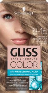 Barva za lase Gliss Color, 8 – 16 Natural Ash Blonde