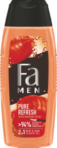 Gel za prhanje Fa,  Men Pure Refresh Guarana, 400 ml