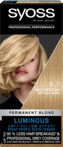 Barva za lase Syoss, 8 – 11 Crystal Blond