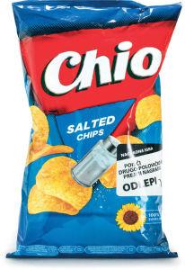 Čips Chio, soljen, 150g